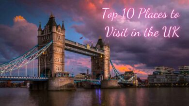 Places to Visit in UK